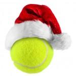 Tennisball iosliert vor weißem Hintergrund